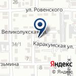 Компания Промбытсервис Алматы на карте