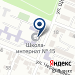 Компания Алматинская областная школа-интернат №15 на карте