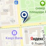 Компания Казахская национальная консерватория им. Курмангазы на карте