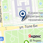 Компания Казахстанско-Британский технический университет на карте