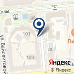 Компания Университет Алматы на карте