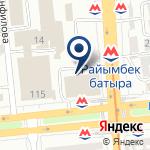 Компания Almaty Motors Premium, ТОО на карте