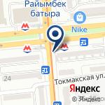 Компания Участковый пункт полиции №64 Жетысуского района на карте