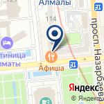 Компания Фламинго на карте