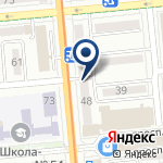 Компания Alira.kz, ТОО на карте