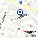 Компания Киоск по ремонту обуви и заточке режущих инструментов на карте