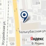 Компания ТССП-Казахстан на карте