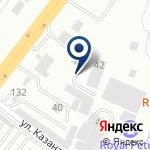 Компания MAN Truck & Bus Kazakhstan на карте