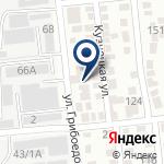 Компания АК-КУС, ТОО на карте