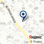 Компания Central Asia Gold Korp, ТОО на карте