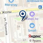Компания Прокуратура Медеуского района г. Алматы на карте