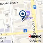 Компания Яндекс, ТОО на карте