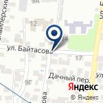 Компания Генеральное консульство Китайской Народной Республики в г. Алматы на карте