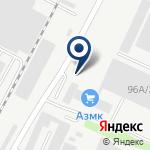 Компания АЗМК, ТОО на карте