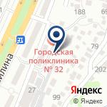 Компания Городская поликлиника №32 на карте