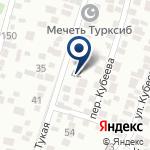 Компания Турксиб на карте