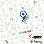 Компания Батыр-Аж, ТОО на карте