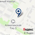 Компания Алматинская ТЭЦ-3 на карте