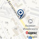 Компания Нотариус Рашидинова Ч.В. на карте