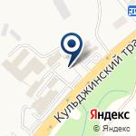 Компания Местная полицейская служба ДВД Алматинской области на карте