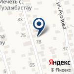 Компания Даурен, продовольственный магазин на карте