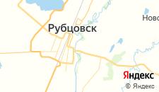 Гостиницы города Рубцовск на карте