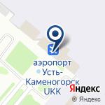 Компания Эйр Астана на карте