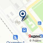 Компания Банкомат, Народный банк Казахстана, Восточно-Казахстанский областной филиал на карте