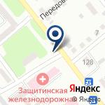 Компания Защитинская Железнодорожная больница, АО на карте