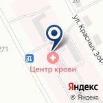 Компания Центр крови Восточно-Казахстанской области на карте