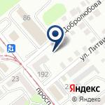 Компания РИК на карте