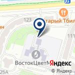 Компания ВостокЦветМет, ТОО на карте