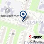 Компания Метанка, ТОО на карте