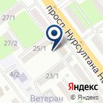 Компания Сеть торговых точек по реализации продукции стабилизационного фонда на карте