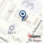 Компания Инспекция связи и информатизации по Восточно-Казахстанской области на карте