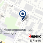 Компания Профессиональная военизированная аварийно-спасательная служба, ТОО на карте