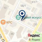 Компания Восточно-Казахстанский музей искусств на карте