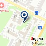 Компания 1С-Рейтинг на карте