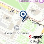Компания Туристский информационный центр Восточно-Казахстанской области на карте