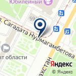 Компания Управление культуры, архивов и документации Восточно-Казахстанской области на карте