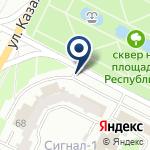 Компания Фирма Техцентр, ТОО на карте