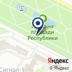 Компания КазНИИСА на карте