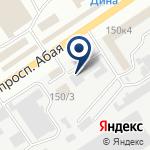 Компания Железобетонный комбинат, ТОО на карте