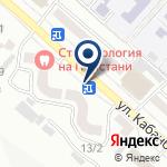 Компания Эвакуатор, ТОО на карте