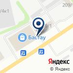 Компания Борусан Макина Казахстан на карте