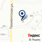 Компания Азангулов, ТОО на карте