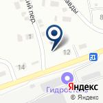 Компания Гидросталь, ТОО на карте