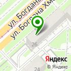 Местоположение компании Айс-Принт