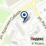 Компания Сибирские сети на карте