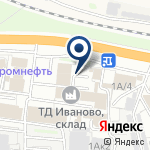 Компания Иваново на карте